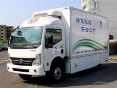 东风新冠疫苗运输车