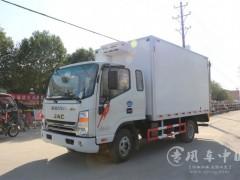 程力4.2米长厢体的冷藏车多少钱