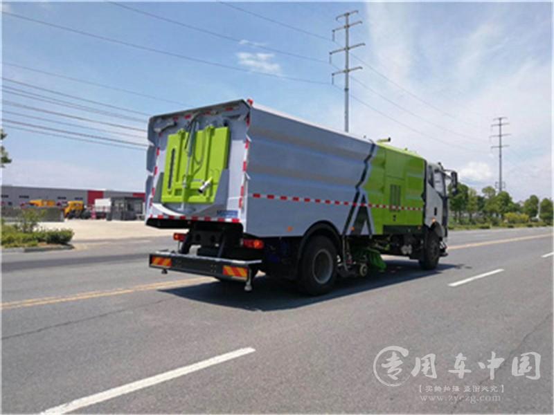 解放J6国六洗扫车图片4