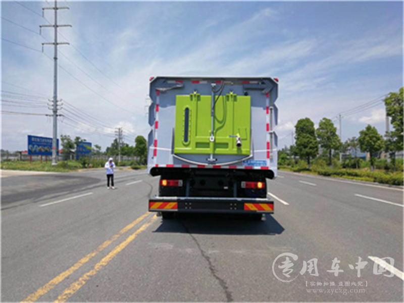 解放J6国六洗扫车图片7