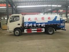 正宗原厂东风小多利卡国六排放蓝牌洒水车动态