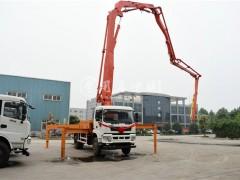 东风小型混凝土泵车详细介绍 混凝土泵车评测