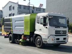 东风天锦路面清扫吸尘车