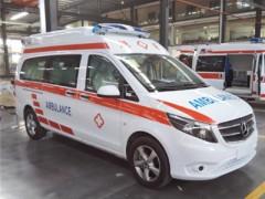 奔驰传染病用负压救护车