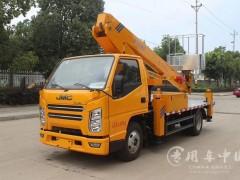 江铃21米直臂高空作业车提车了 21米高空作业车发车成功