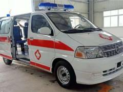 金杯民政救助车