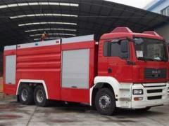 重型泡沫119消防车
