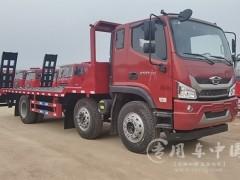 可上北京户的国六福田小三轴平板车价格配置