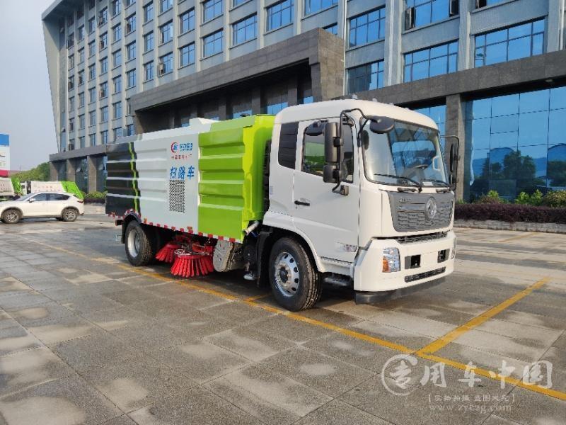 国六东风天锦18吨扫路车