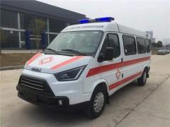 江铃特顺救护车细节的详细说明 救护车动态