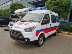特顺救护车和全顺救护车不仅更改了名称,还更改了外观栏 救护车动态