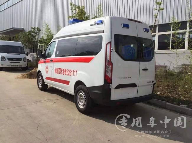 新全顺监护型救护车
