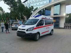 福特全顺V362救护车配置解说 救护车动态