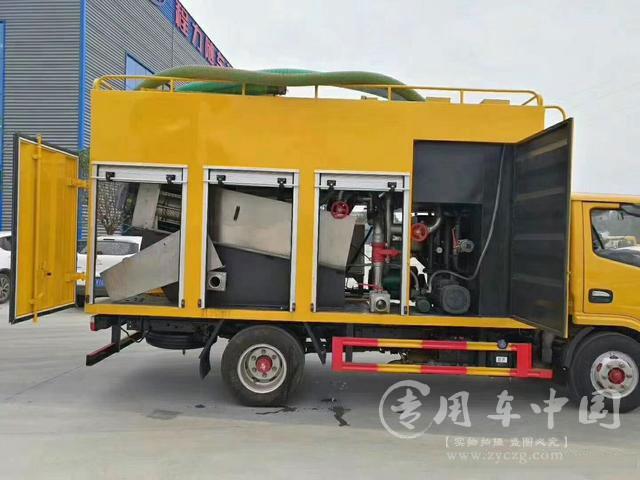 国六东风小多利卡污水处理车