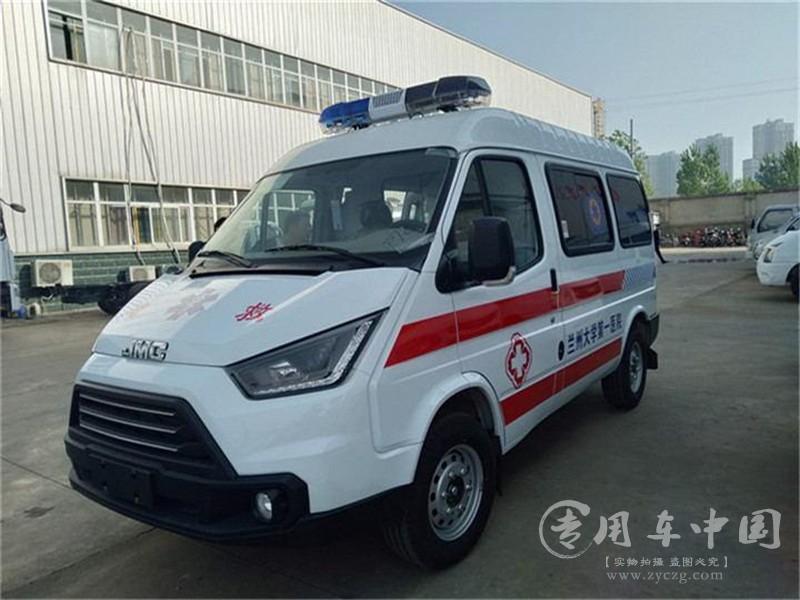江铃特顺120救护车