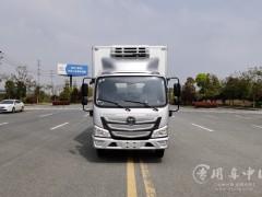 4.2米福田欧马可冷藏车蓝牌轻量化冷藏车价格