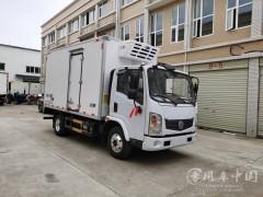 新能源插电式混合动力冷藏车4.2米东风行易冷藏车价格