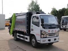 国六东风小多利卡6方压缩式垃圾车评测