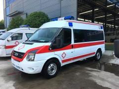 江铃全顺救护车该车采用纯福特尖端技术 救护车动态