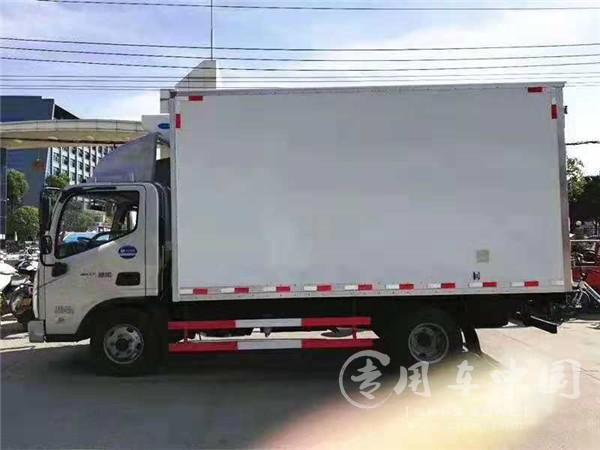 福田奥铃速运蓝牌冷藏车
