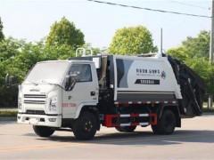 国六江铃顺达压缩式垃圾车窄体驾驶室漂亮 垃圾车评测