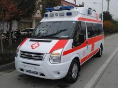 全顺V348监护救护车,高端配置救护车 福特救护车