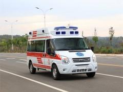 福特全顺V348救护车,120救护车中的佼佼者
