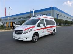 新款奔驰救护车实力派的象征 奔驰救护车