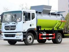 国六东风D9餐厨垃圾车现车出售 垃圾车动态