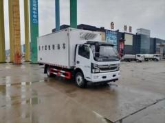 国六东风多利卡4.1米医疗废物车详细配置 医疗废物车动态