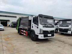新款东风福瑞卡F7宽体餐厨垃圾车首发黔南