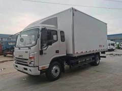 江淮帅铃Q7冷藏车发往广西冷链物流公司