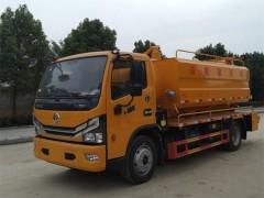 东风多利卡D7清洗吸污车质量可靠 吸污车动态