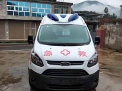 福特V362中轴中顶监护型救护车顺利抵达四川省凉山彝族自治州,交车中