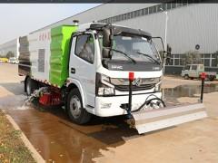 国六东风凯普特K7路面洗扫车是一款多功能环卫车 洗扫车评测
