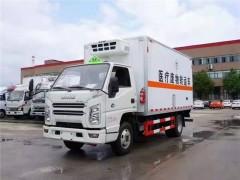 江铃顺达4.05米医疗废物车上装介绍 医疗废物车评测