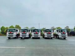 五台国六东风D9 15方绿化洒水车发往新疆乌鲁木齐