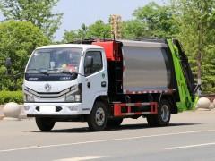 东风3吨压缩式垃圾车  东风压缩垃圾车详细功能介绍