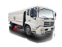 东风天锦天然气(LNG/CNG)洗扫车(9水7尘)功能介绍  程力洗扫车优点