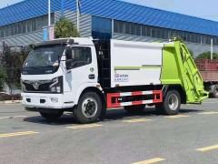 程力大多利卡8压方缩垃圾车配置怎么样?配件是什么品牌?