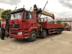 陕汽德龙16吨随车吊带2吨副钩性能强悍 随车吊动态