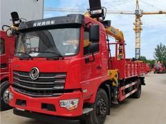 国六东风畅行D3 8吨随车吊新外观新配置 随车吊评测