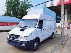 依维柯长轴8方冷藏车托运至新疆