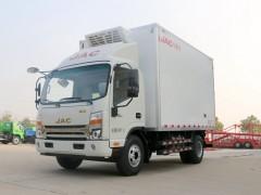 国6江淮帅铃Q6 4.2米冷藏车高品质,推荐购买 冷藏车动态