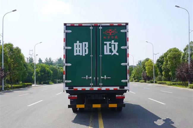 国六东风D8 6.15米邮政冷藏车