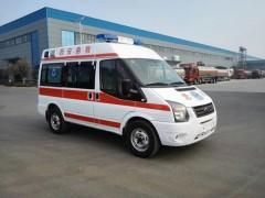 福特新时代全顺V348救护车全新的设计风格,颜值的大幅度提升