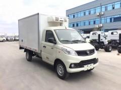 国六福田祥菱V1冷藏车环保达标、城市不限行 冷藏车评测