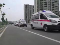 福特负压救护车分赴各自的抗疫前线!愿山河