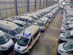 抗击疫情,程力福特救护车专业厂在路上