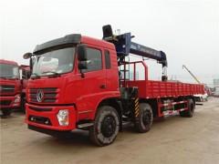 西藏昌都东风小三轴12吨随车吊己提车